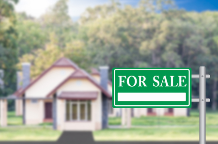 home sale: Home For Sale with a green for sale sign