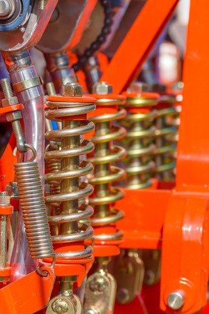 springy: Shock absorbers are used in agricultural machinery