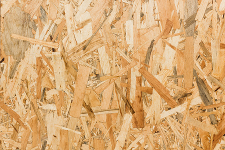 osb: Close up texture of oriented strand board (OSB), Wood board made from piece of wood