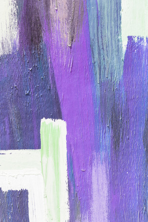 art painting: Hand painting purple and white abstract art painting