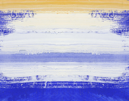 art painting: Abstract art painting ,Hand painted blue and white on wood Stock Photo