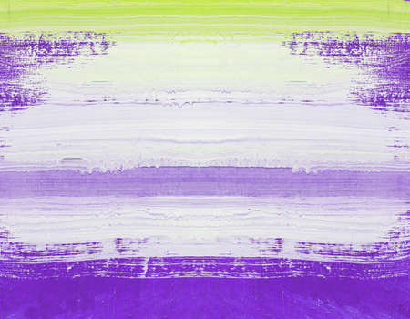art painting: Abstract art painting ,Hand painted purple and white on wood