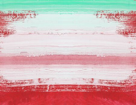 art painting: Abstract art painting ,Hand painted red and white on wood