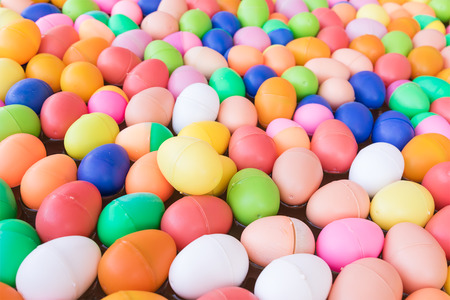 The Colorful easter eggs,Colorful plastic eggs toys for childrens