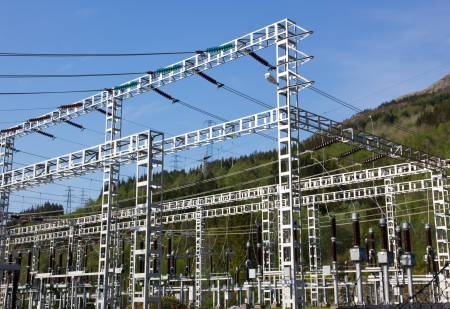 powerstation: Picture of a powerstation, where they process electricity