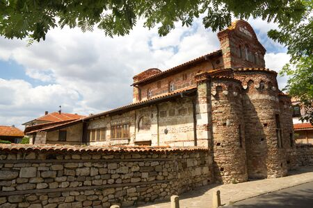 A picture of a church in Nessebar, Bulgaria photo