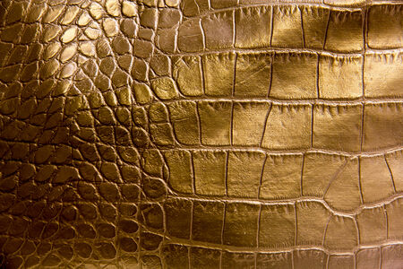 lookalike: Picture of some leather lookalike  close up with different patterns Stock Photo