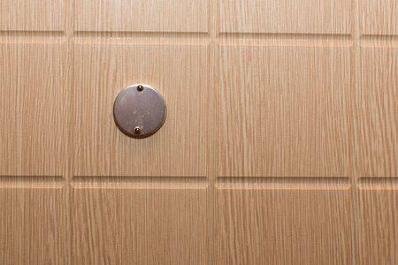 oversee: Peephole on the door Stock Photo