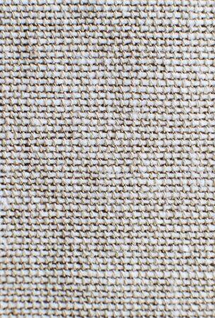 tissu de près. fond de tissu. tissu de lin se bouchent Banque d'images