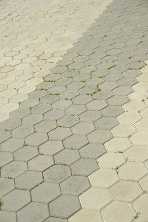 Tile texture stones Square. Paving stone