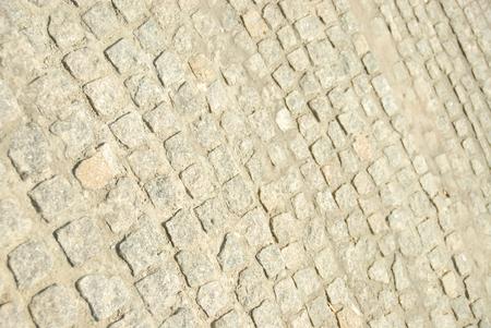 Tile texture stones Square. Paving stone KV F