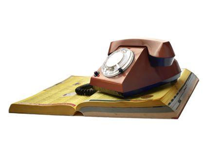 Telefonu z książki telefonicznej