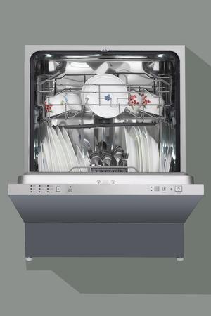 lavaplatos: lavavajillas, abierta,