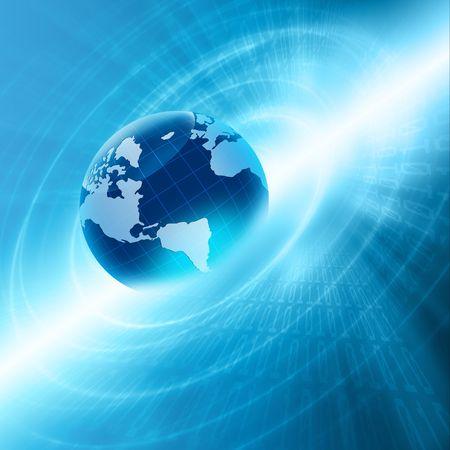 Meilleur Concept Internet du commerce mondial de concepts série