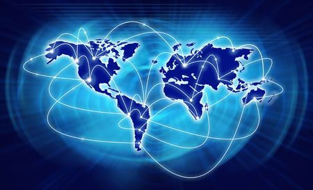Beste Internet Concept van globale zaken uit concepten serie