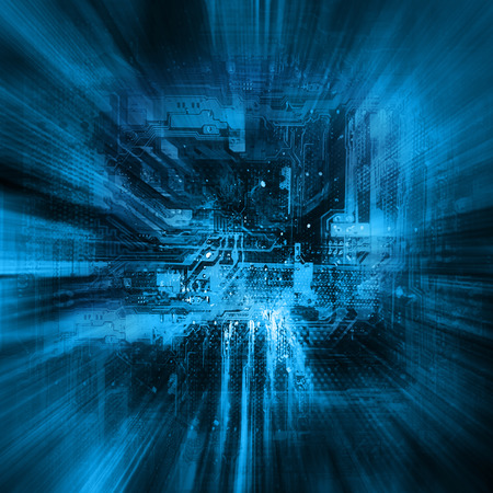 best background: Abstract blue background. Technology background, from series best concept of global business