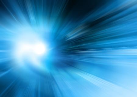 blue: Abstrakter blauer Hintergrund, schöne Linien und Unschärfe Lizenzfreie Bilder