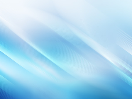 Abstract blue background, beautiful lines and blur