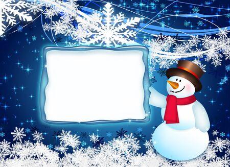 silver backgrounds: Christmas blue tree, beautiful snowflakes and shining stars