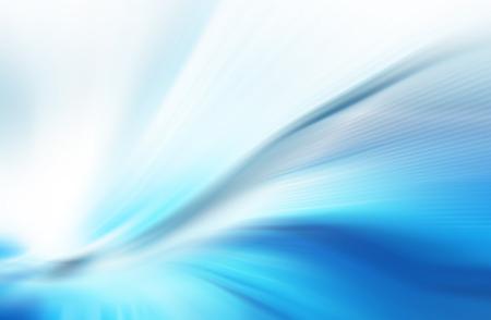 Abstracte blauwe achtergrond, mooie lijnen en onscherpte Stockfoto