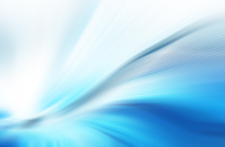 Abstraktní modré pozadí, krásné linie a rozostření