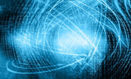 tecnologia informacion: El mejor concepto del Internet de fondo business.Technological global. Foto de archivo
