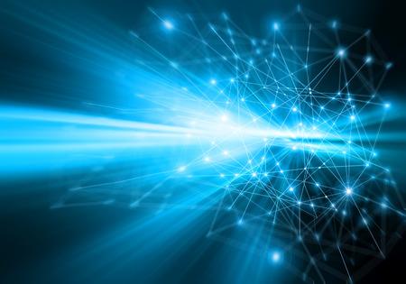 Best Internet Concept of global business.Technological background.  Banque d'images