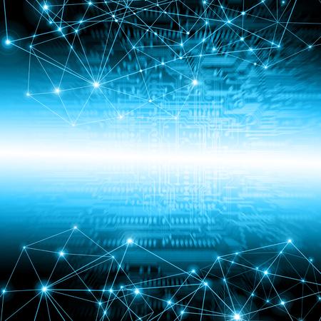 Beste Internet Concept van de wereldwijde business.Technological achtergrond.