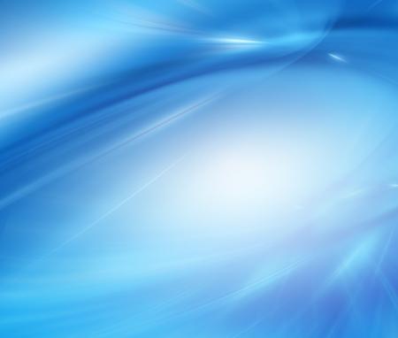 Resumo fundo azul, belas linhas e borrão