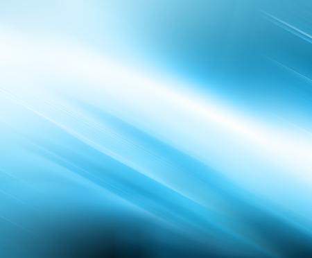 Résumé fond bleu, de belles lignes et flou