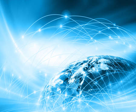 imaginary line: Best Internet Concept of global business from concepts series, connection symbols communication lines.