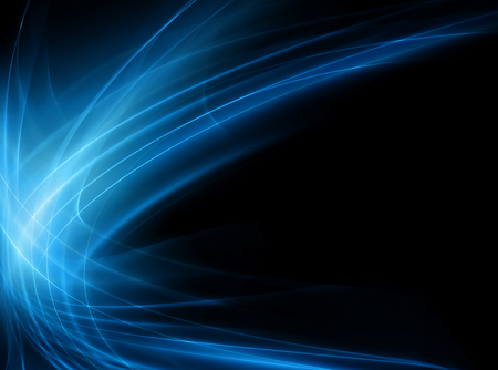 filament: Abstract blue background Stock Photo
