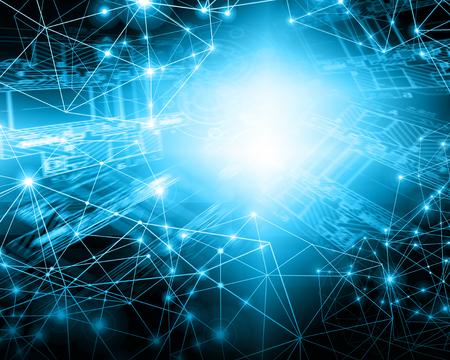 グローバルビジネスのベストインターネットコンセプト。