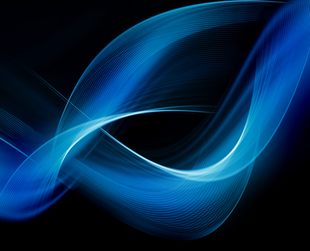 Abstract blue background Imagens