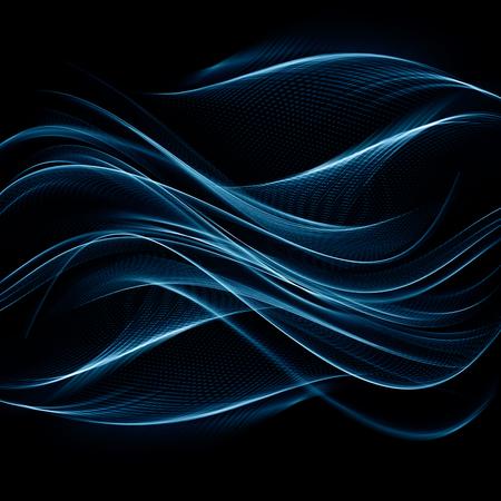Abstract blue background Фото со стока