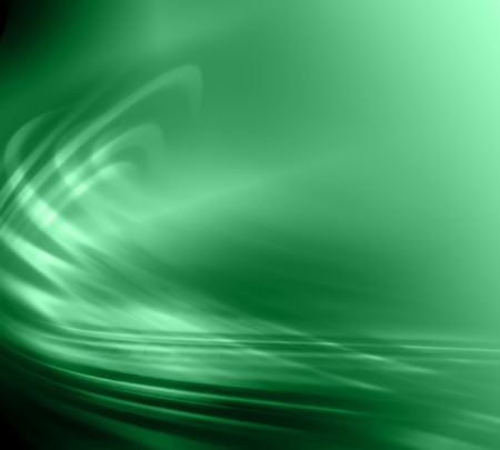 Green abstract background. lines, waves, strokes, stylish background