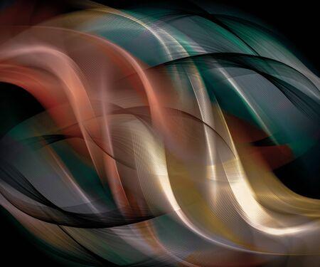 Fondo de color abstracto hermosas líneas