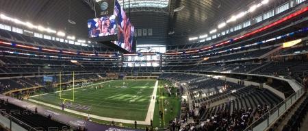 Cowboy Stadium for TCU vs. LSU Game