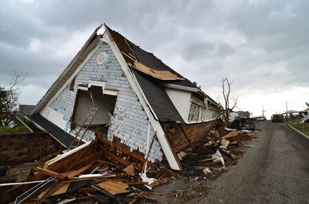 Damage from EF5 tornado that struck Joplin, MO on May 22, 2011. Stock Photo - 14137743