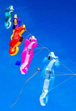 Kite festival on Treasure Island Beach, Florida USA Stock Photo