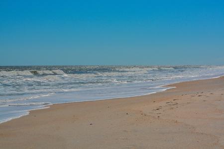 North Beach Guana River Preserve in St Johns County on the Atlantic Ocean, Florida. Archivio Fotografico