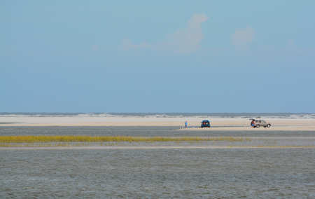 View from Little Talbot Island State Park in Duval County, Jacksonville, Florida Stock Photo