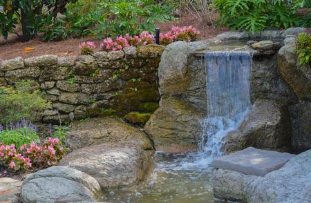 Waterfall near Amelia Plantation at Franklintown, Nassau County, Florida.