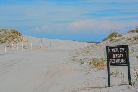 Beach access, Huguenot Memorial Park in Duval County, Atlantic Ocean, Florida