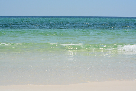 Pensacola Beach in Escambia County Florida, on the Gulf of Mexico, USA Imagens