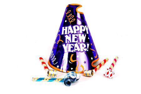New Year's Eve chapeau de fête Banque d'images - 278577