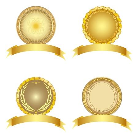 Set of design elements. Vector illustration. Vectores