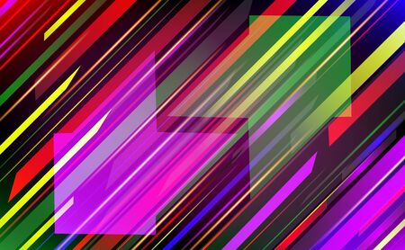 decorative lines: Abstract trendy vector background. Illustration