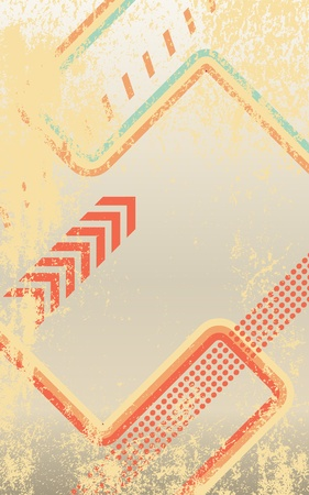 Grunge vector abstract  background.