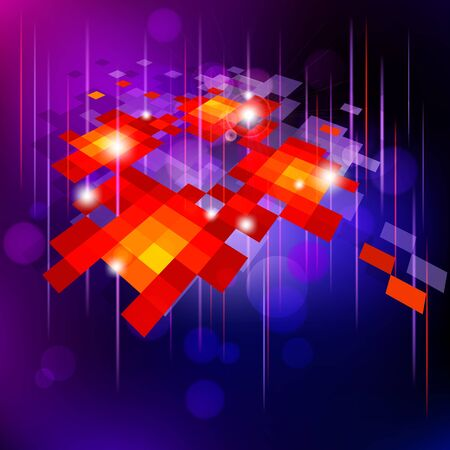 Abstract  bright   background . Vector illustration.